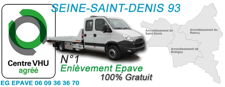 Enl vement pave gratuit seine saint denis 93 epaviste vhu 93 for Garage volkswagen seine saint denis